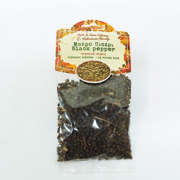 Πιπέρι Μαύρο Σε Κόκκους Φακελάκι 50γρ.