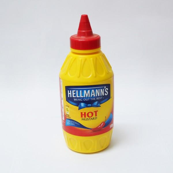 Hellman`s Μουστάρδα Πικάντικη 500γρ.